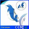 Memoria encantadora Pendrive de los pescados del disco de destello del USB del delfín