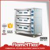 Máquina eléctrica del horno de la hornada del pan de la panadería de 3 bandejas de la cubierta 9