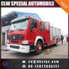 Löschfahrzeug-Feuer-Kampffahrzeug China-neues 10cbm HOWO 4X2