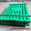 Alta placa modificada para requisitos particulares de la trituradora de quijada de acero de manganeso