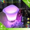 Cubeta de gelo de plástico LED Cubeta de refrigeração de vinho LED