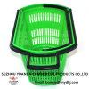 Enregistrer les paniers à provisions en plastique de roulement avec le traitement