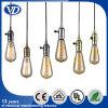 Lámpara pendiente de cobre del conjunto de cuerda del sostenedor de la lámpara de la vendimia DIY