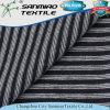 Heißer Verkauf Striped einzelnes Jerseyknit-Denim-Gewebe für Hemden