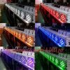 단계를 위한 방수 무선 &Battery &DMX 통제 9*10W RGBW 4in1 LED 동위 빛