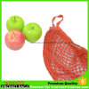 バスケットボールのためのFoldableフルーツの綿ストリング網のショッピング・バッグ