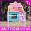 New Design Pretend Play Pink Wooden Girls Kitchen Toys W10c150