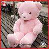 Rose jouets géants d'ours de nounours de grande peluche de 5 pieds