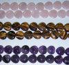 Cadena cristalina de la joyería del grano de la piedra preciosa de la manera (ESB01783)