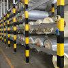 Papel de aluminio incombustible de la fibra de vidrio del aislante para laminar de las lanas de roca de las lanas de cristal