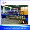 Plaque en acier de portique de la meilleure qualité/machine de découpage de plasma de commande numérique par ordinateur barre de Flate