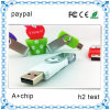 Promotion Colorful Gifts Custom Swivel USB Flash Drive