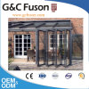Außenglasfalz-Tür für Balkon