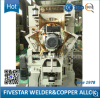 Máquina de soldadura inteiramente automática do cilindro de aço de alta velocidade/emenda do tambor