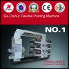 Machine d'impression flexible des meilleures couleurs de la qualité six de Wenzhou