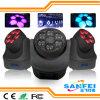 15W Oog 6 van de Bij van RGBW Gezoem die HoofdVerlichting bewegen