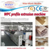 Decking de WPC que faz a extrusora da máquina