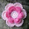 Fiore abbastanza Pinky del Crochet (CF-0010)