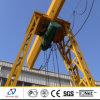 Concrete를 위한 10t Trussed Type Single Girder Gantry Crane