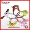 Jouets animaux d'animal familier de peluche durable de corde