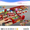 O campo de jogos atrativo do bebê interno caçoa Playset para o jardim de infância