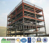 Oficina prefabricada del edificio de la construcción de la estructura de acero de la alta subida