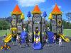 Campo da giuoco esterno dei bambini di tema di alta qualità del castello di medie dimensioni di Kaiqi (KQ50055A)