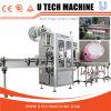 Machine à étiquettes de bouteille de rétrécissement de double de douille automatique de tête