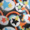 210d Ripstop Star PVC/PU Printed Polyester Fabric (XL-3008-6)