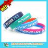 Colors su ordinazione Cheap Silicone Bracelet con Embossing Logo