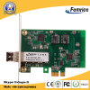 X1 Enige LAN van PC van de Desktop van de Vezel van Intel van Gigabit Ethernet van de Haven 1000Mbps Pcie Optische Kaart