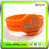 Wristband macio excelente Ultralight do PVC RFID de MIFARE C Quaility