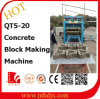具体的なBlock、Paver BlockおよびCurbstone Block Machine (QT5-20)