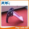 Diapositiva plástica de los juguetes de interior del plástico del jardín de la infancia para los niños