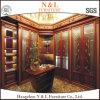Klassische Schlafzimmer-Möbel-hölzerne Schlafzimmer-Möbel-Entwürfe mit Glastüren