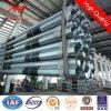 achteckiger sich verjüngender galvanisierter Stahlmast Pole des 110kv Sicherheitsfaktor-1.8