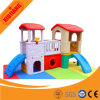 Childen Indoor Plastic Play House avec toboggan