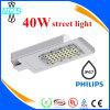 Lámpara al aire libre fría de Wihte 40 vatios del LED de luz de calle