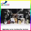 Plata Hot Stamping Papel Negro Maquillaje Box en Diferencia Tamaño