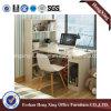 Bureau d'ordinateur de bureau de mélamine avec l'étagère (HX-6M243)