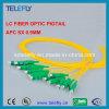 Treccia ottica della fibra di LC di 12 memorie