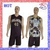 Modificar diseño de la sublimación de la alta calidad el nuevo de los uniformes para requisitos particulares reversibles del baloncesto para 2016