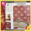 Type papier peint de Colombie d'éléments de décoration intérieure de ventes en vrac de PVC