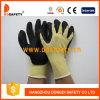 Отрезанное Ddsafety 2017 и перчатки сопротивления жары с желтым вкладышем волокна Aramid