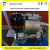 De lucht koelde Verticale Dieselmotor (Deutz F2l912)