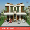 Osten-Art-modulares Luxuxstahlgebäude-Landhaus-Haus