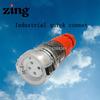 Zoccolo impermeabile industriale IP66 di estensione di Pin di nuovo disegno 4 di Zing Za66csc410 2014