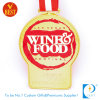 Médaille d'imitation de festival de nourriture d'émail personnalisée par qualité de la Chine avec en alliage de zinc