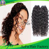 Cheveu normal humain brésilien de Vierge profonde de bonne qualité d'onde