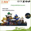 Zusammenfassende Sonnenschein-Serien-Kind-im Freienspielplatz-Plättchen